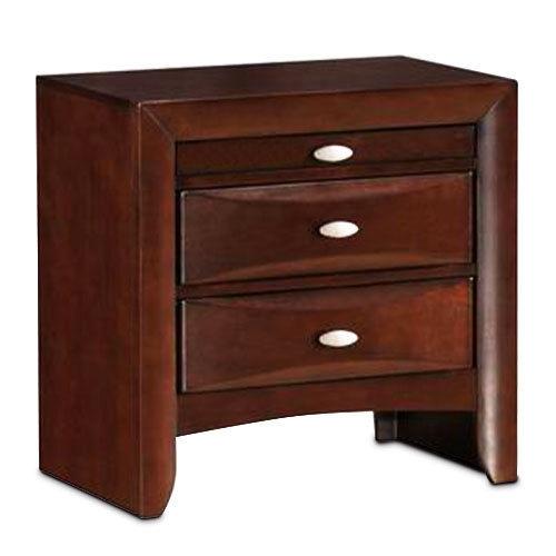 Sorrel Modern Storage Bedroom End Beside Drawers Nightstand