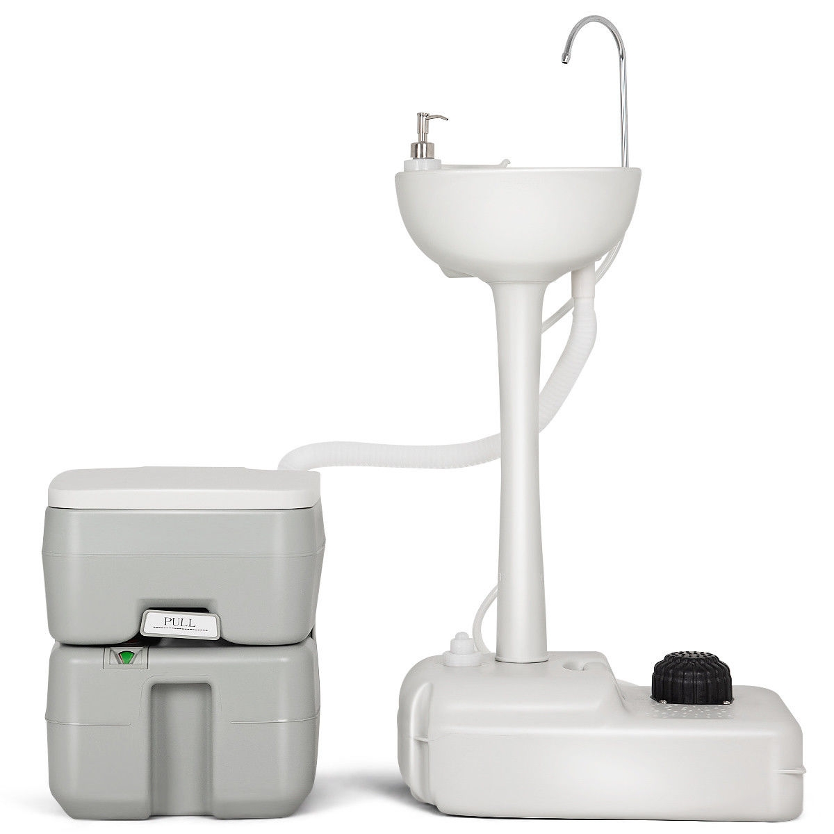 5 Gallon Portable Wash Sink Garden Camping Washing Station