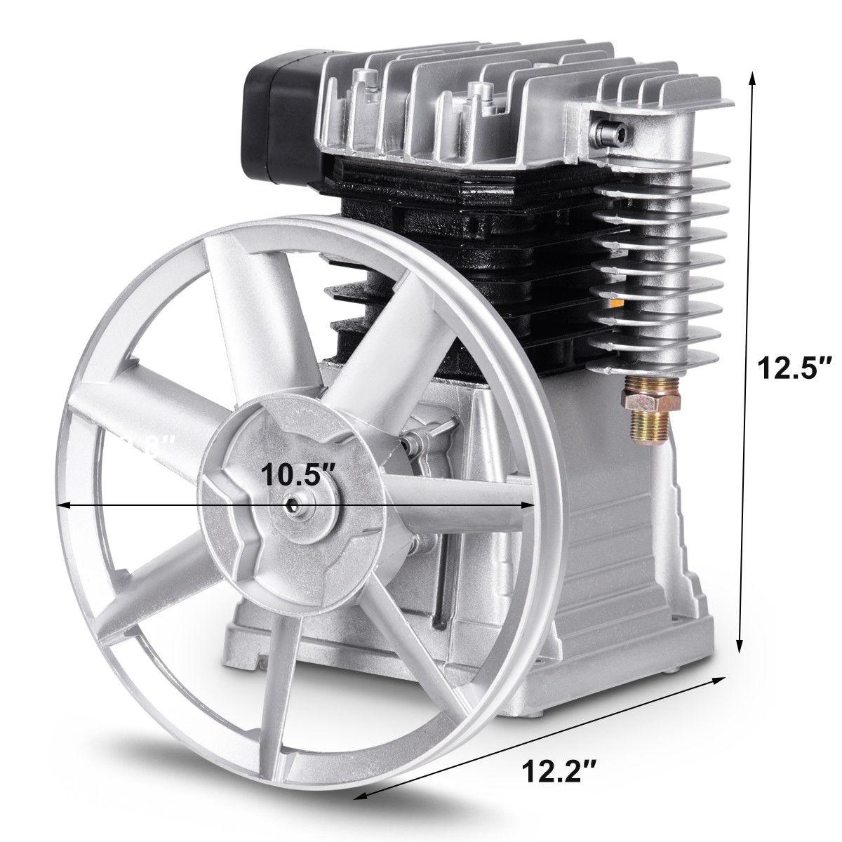 Aluminum 3HP Air Compressor Head Pump Motor
