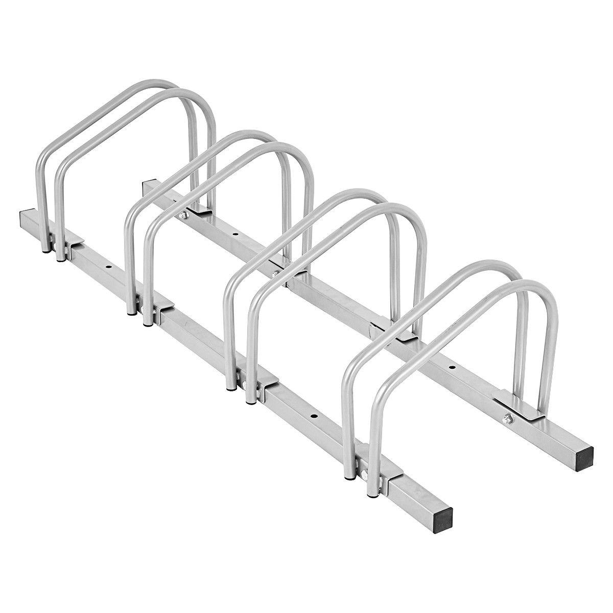 4 Bike Parking Garage Rack Storage Stand