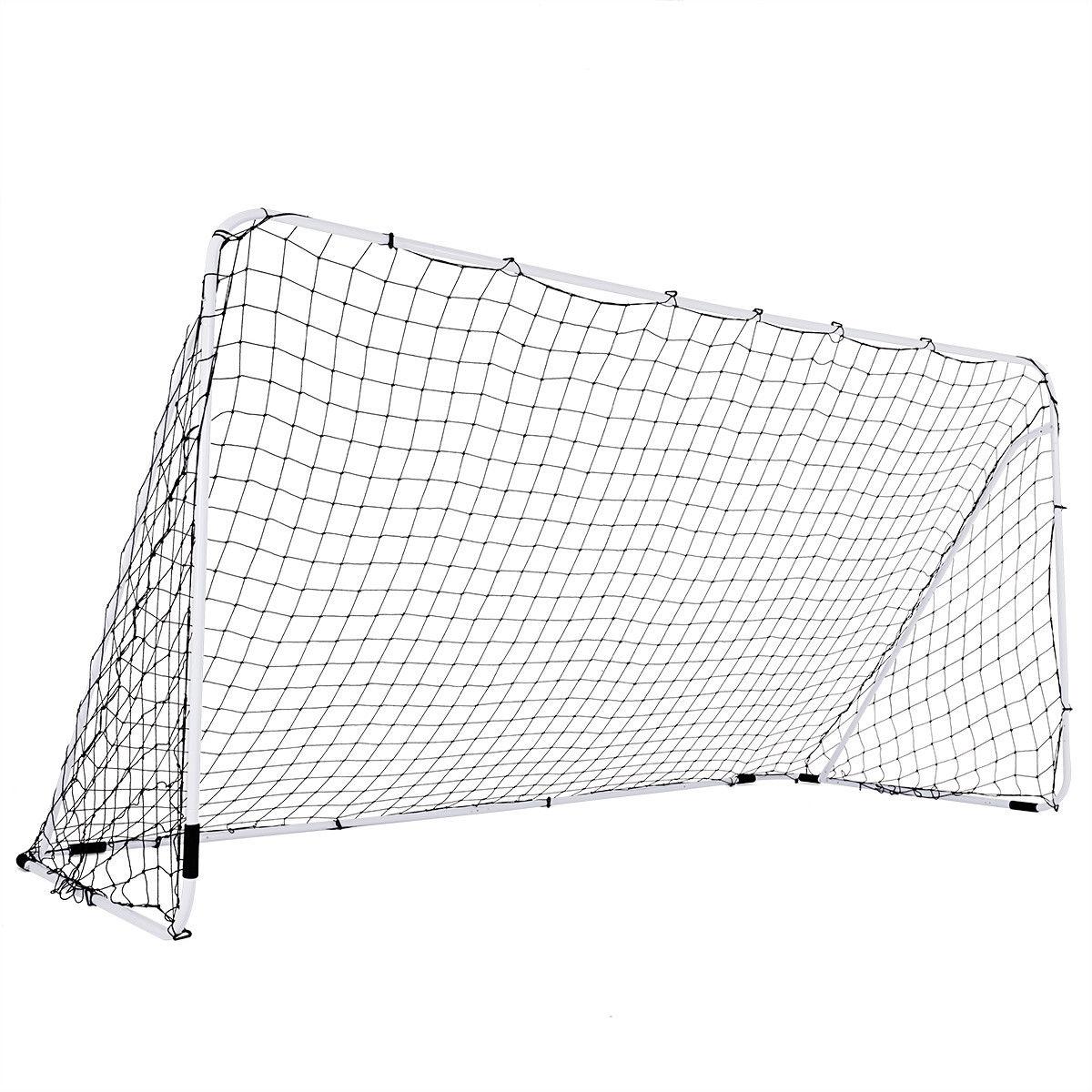 Outdoor Sports Weatherproof Steel Football Goal Net