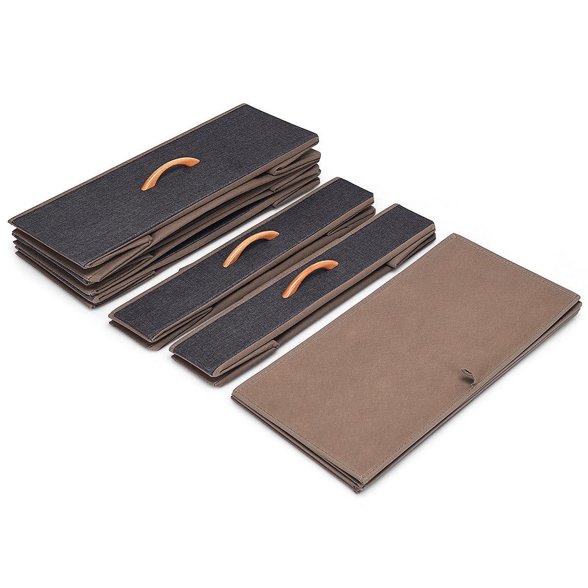 5-Drawer Fabric Metal Frame Dresser Storage Organizer with Wheel