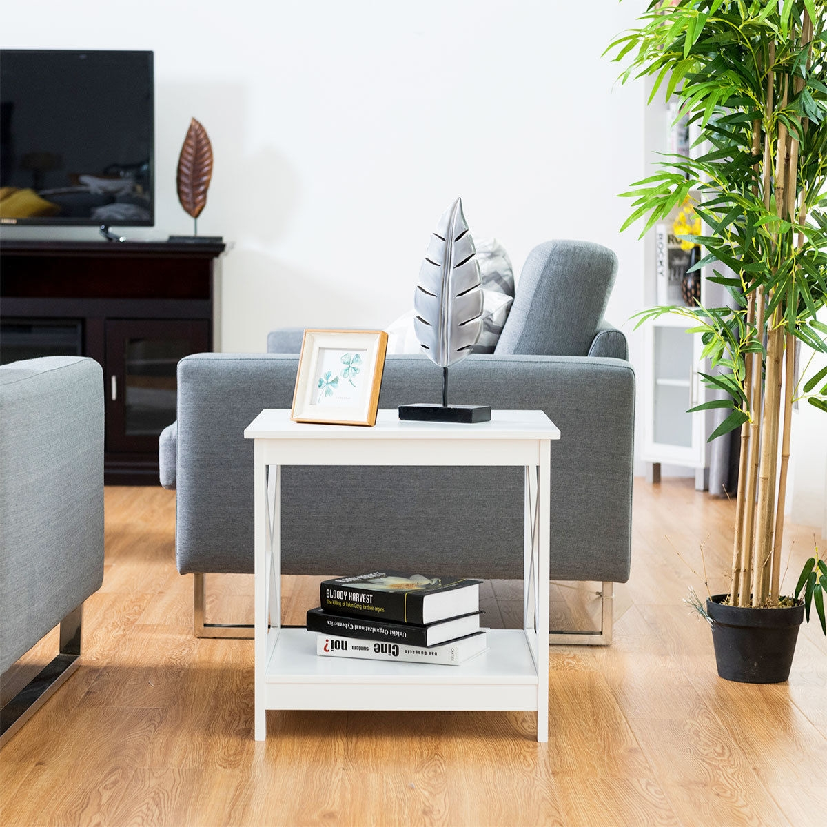 X-Design Display Accent Sofa Side Nightstand Table