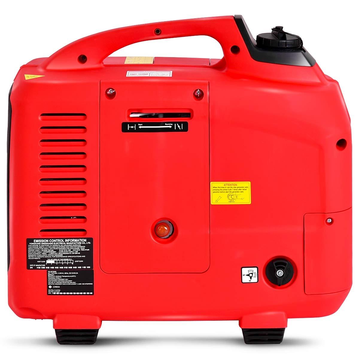 2750W Digital Inverter Generator 4 Stroke 125CC