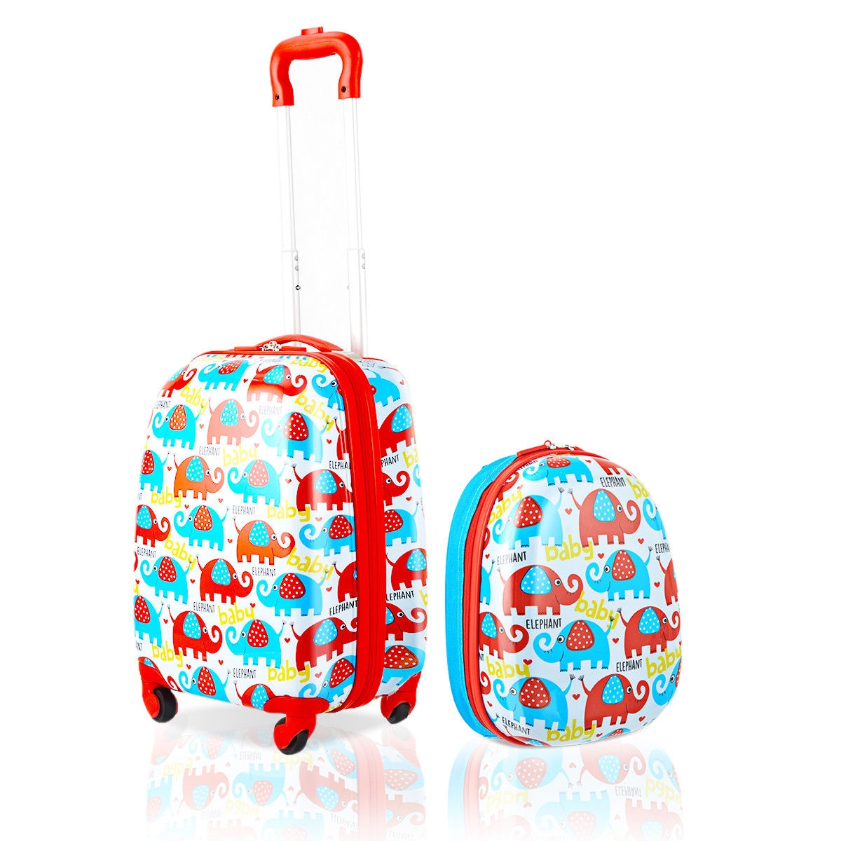 2 pcs Kids Luggage Set - 12 and 16 Inches