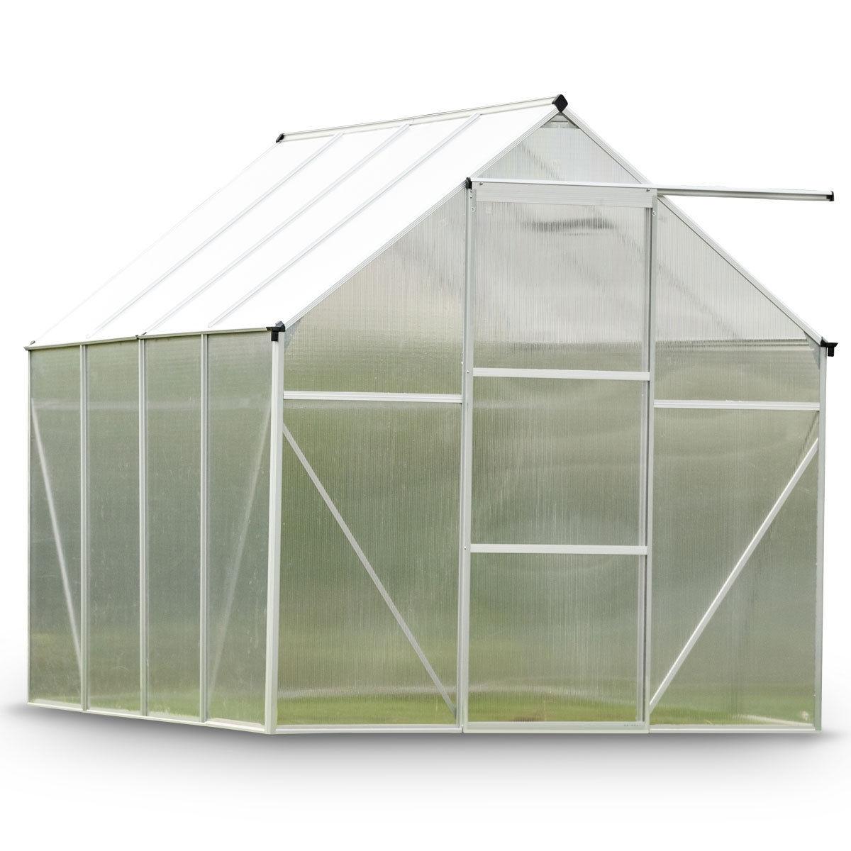 6.2'L x 8.2'D Walk-In  Heavy Duty Greenhouse