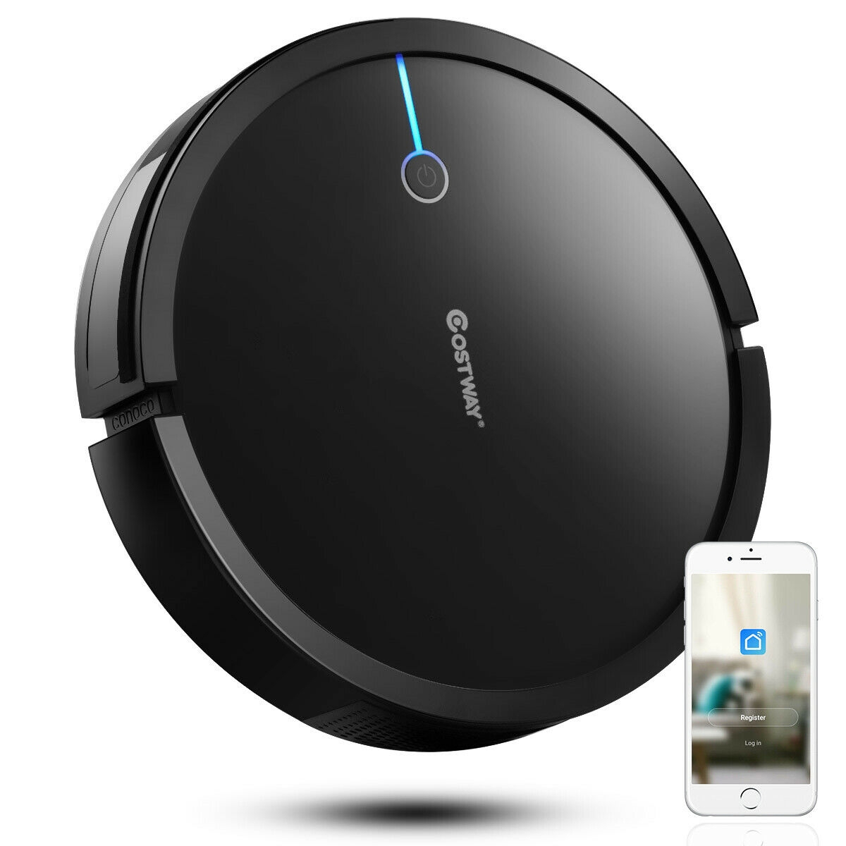 Voice Control Self-Charge Vacuum Cleaner Robot