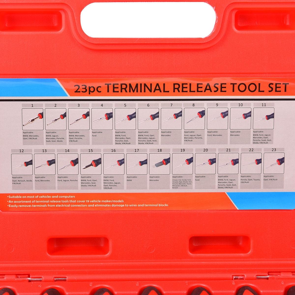 23 pcs Universal Terminal Release Tool Set