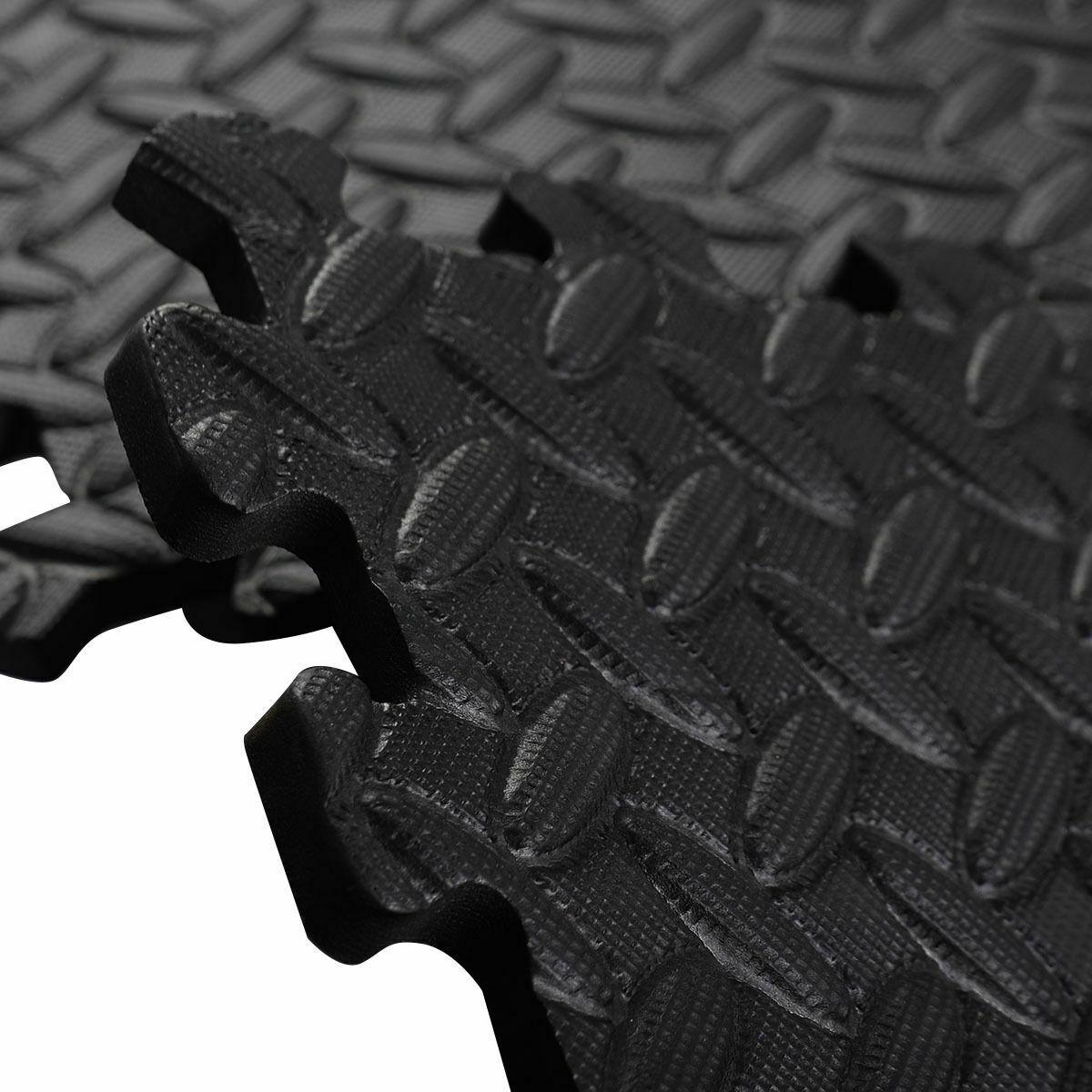 48 Sq Ft EVA Foam Floor Interlocking Mat