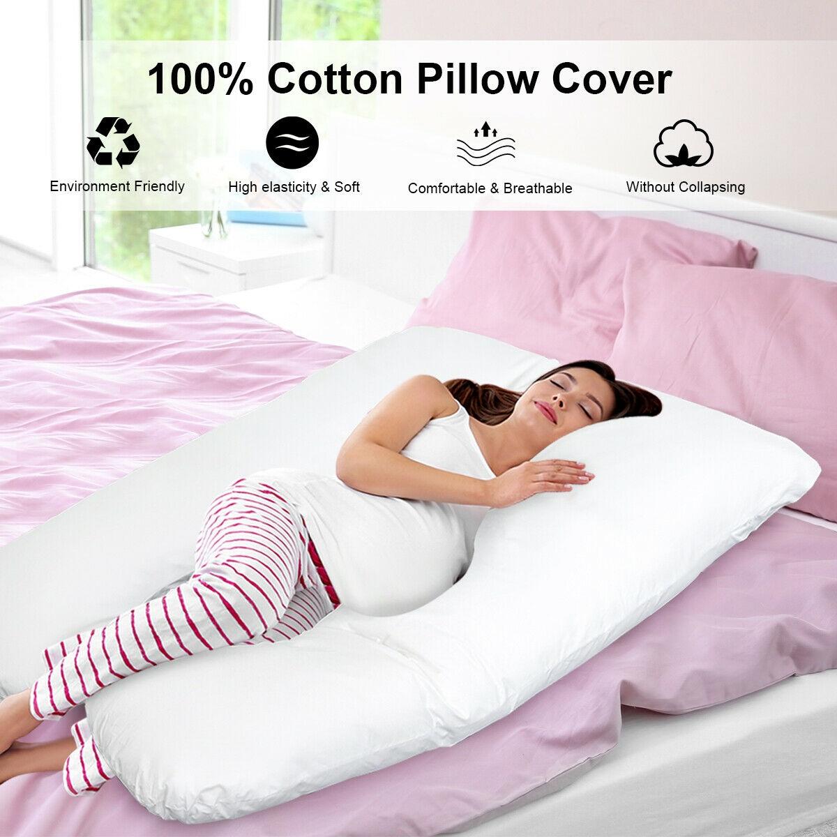 Pregnancy Full Body U Shaped Nursing Cushion