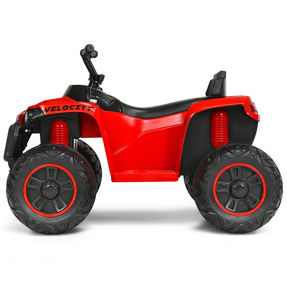 12V Kids 4-Wheeler Quad ATV Battery Powered Ride On Toy