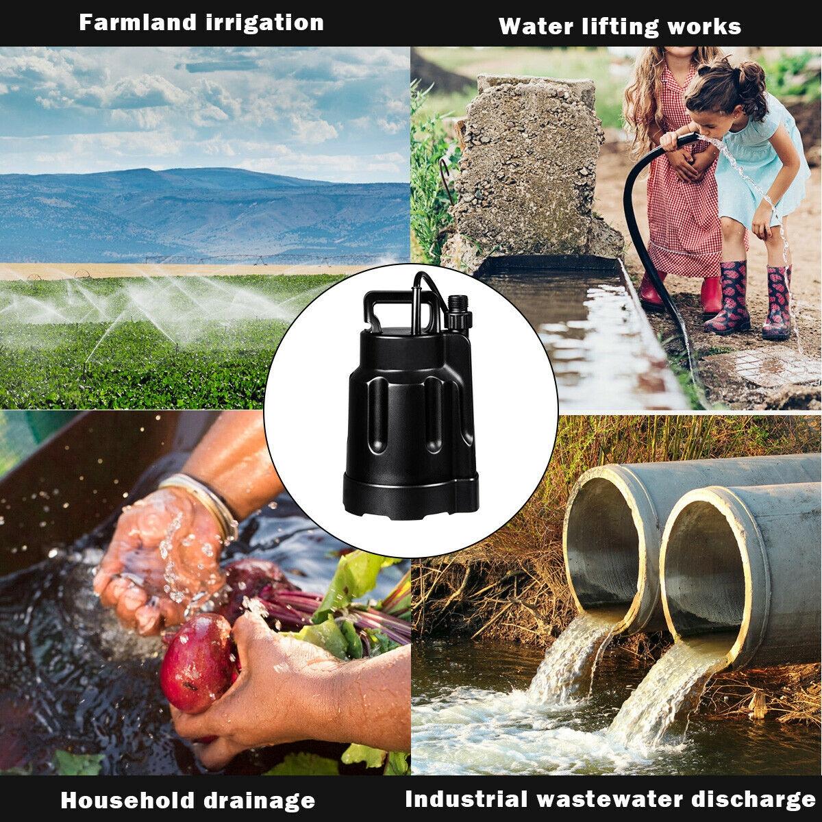 1/2HP Multi-Purpose Thermoplastic Utility Water Pump