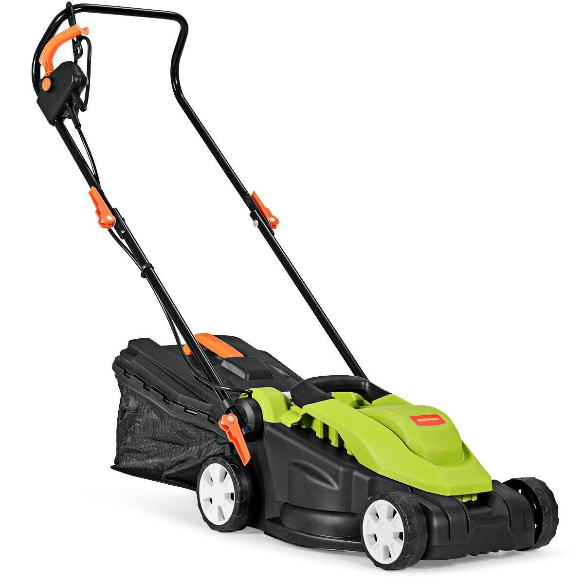 14-Inch 10 Amp Lawn Mower with Folding Handle Electric Push