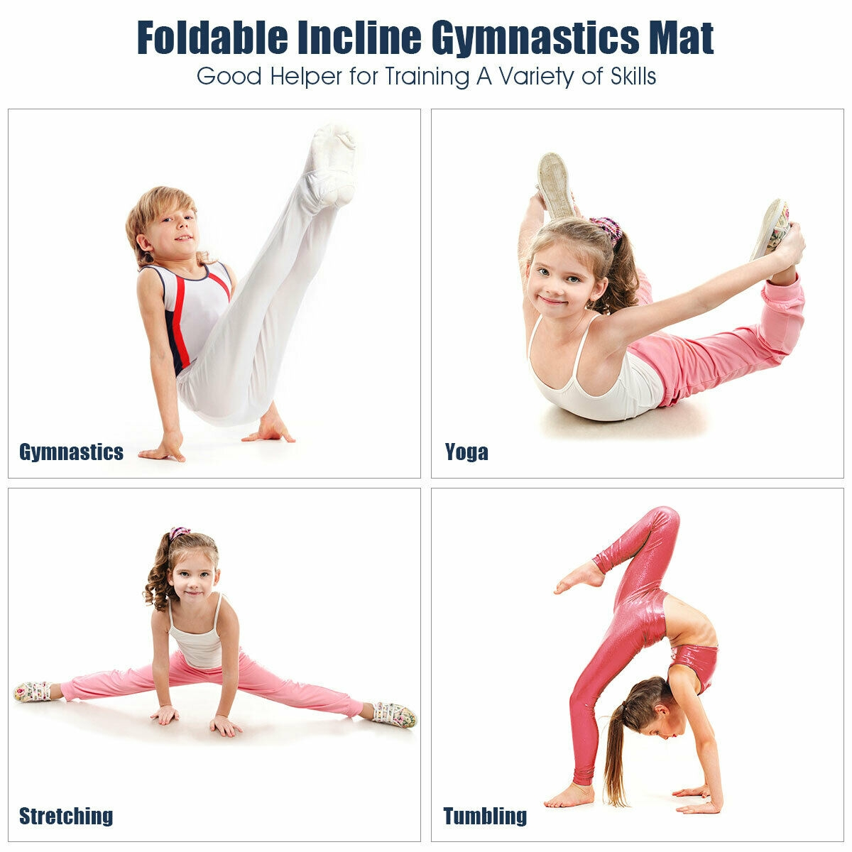 Incline Tumbling Wedge Ramp Gymnastics Mat