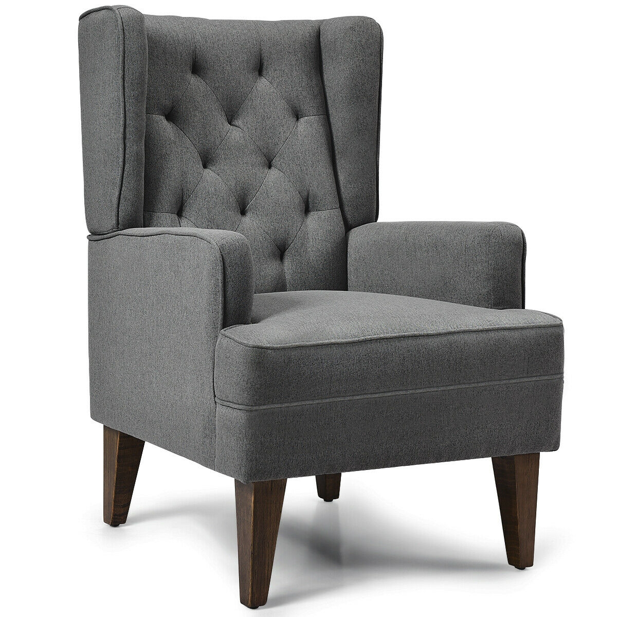 2 in 1 Tufted Rocking Chair