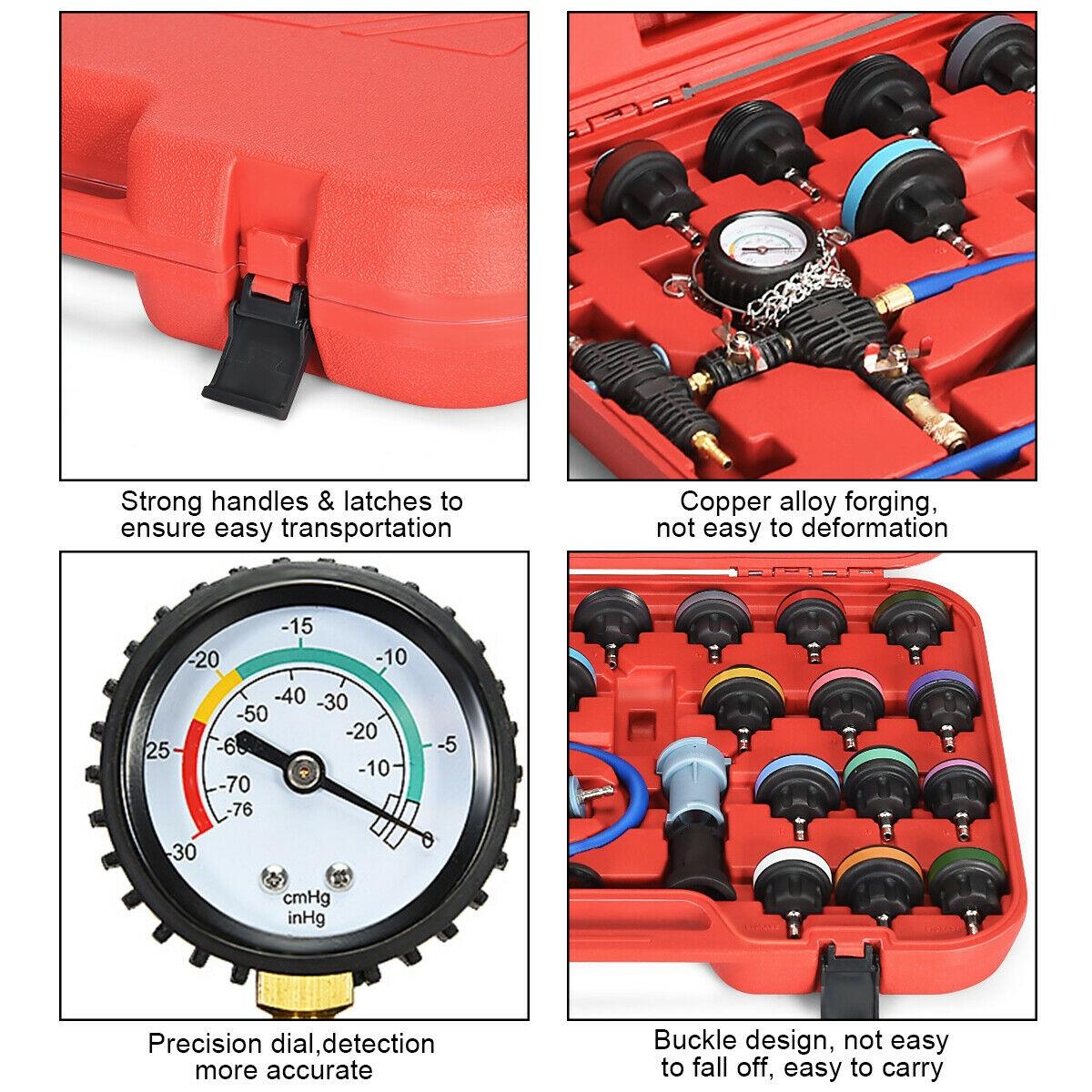 28 pcs Pressure Tester Vacuum
