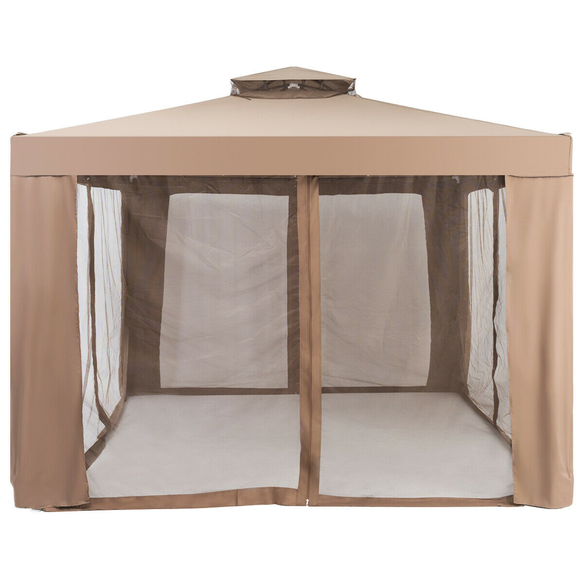 Canopy Gazebo Tent Shelter Garden Lawn Patio with Mosquito Netting