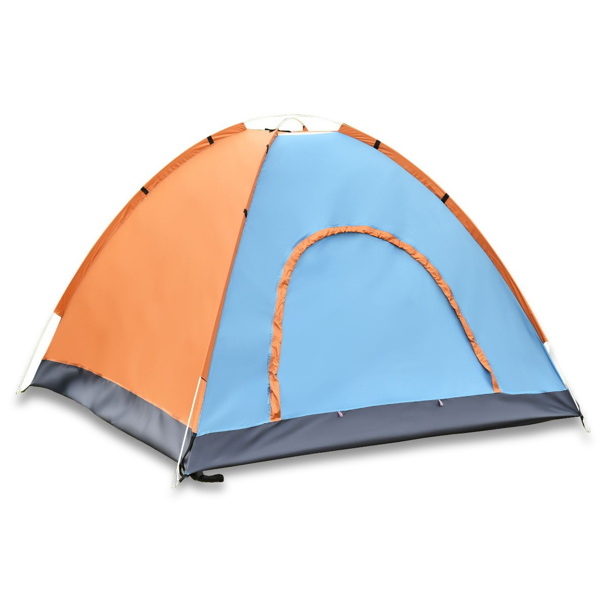 Coloful Waterproof 2-3 Person Camping Tent-Orange