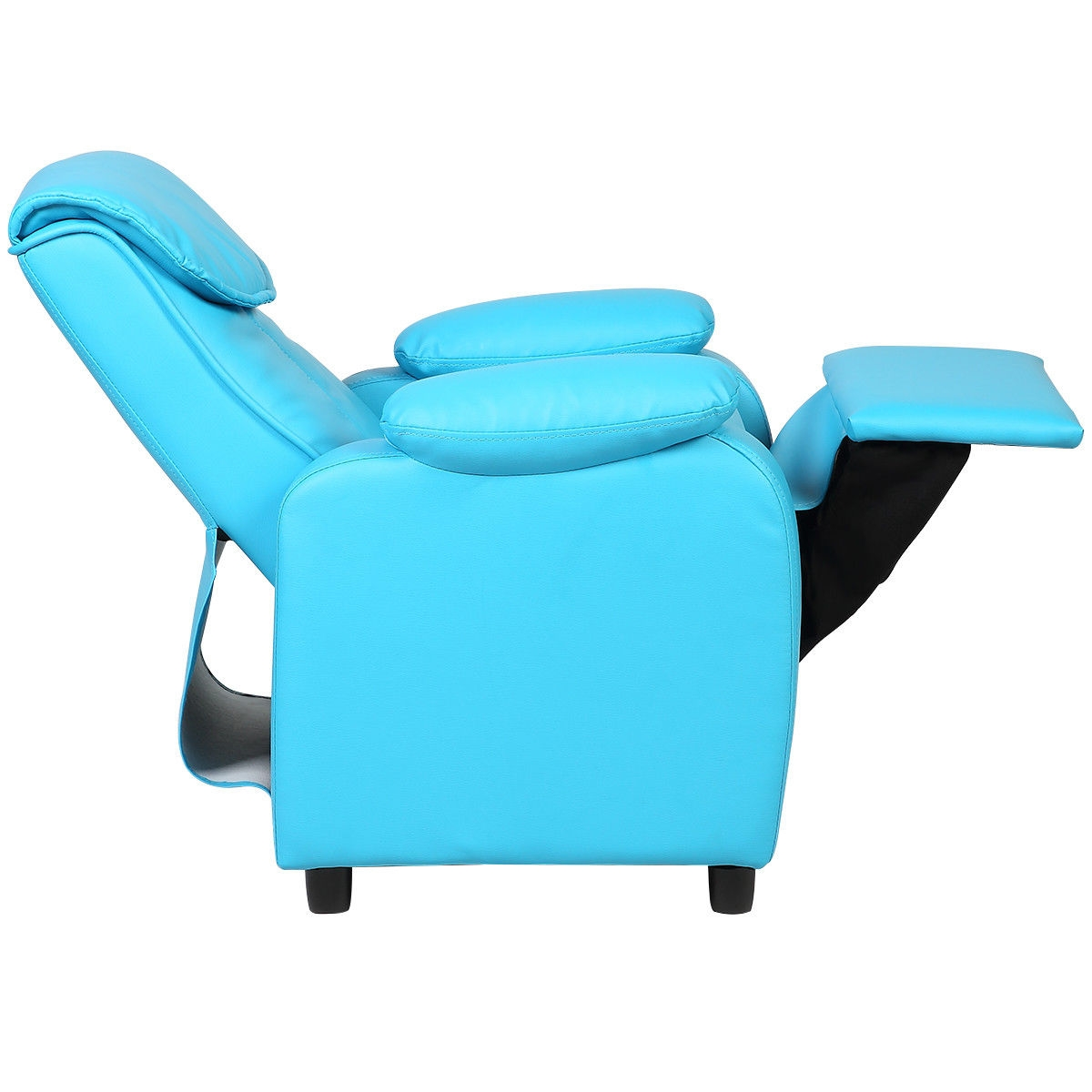 Kid Recliner Sofa Armrest Chair -Blue