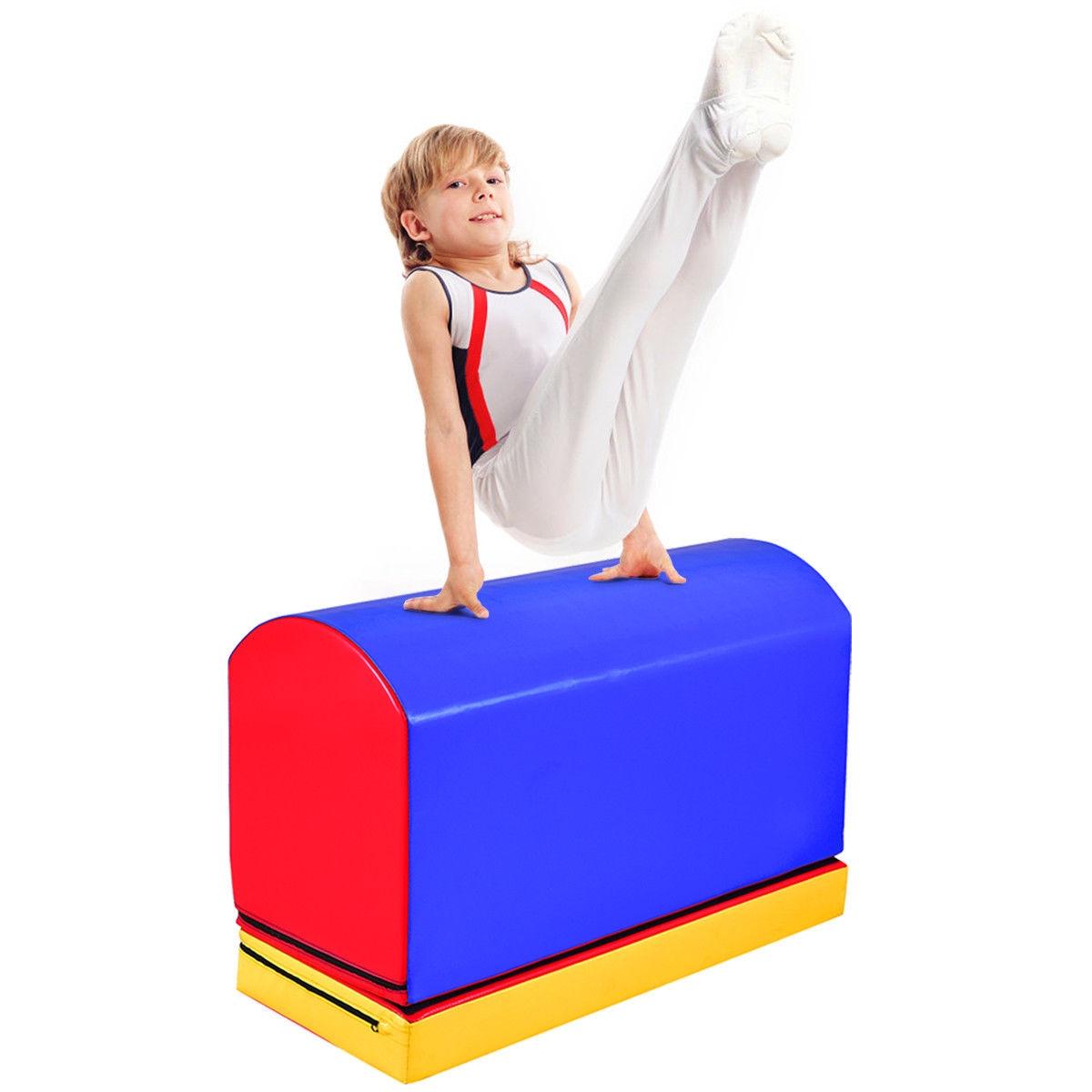 Goplus Mailbox Trainer Tumbling Aid Gymnastics Jumping Box Heightening Mat