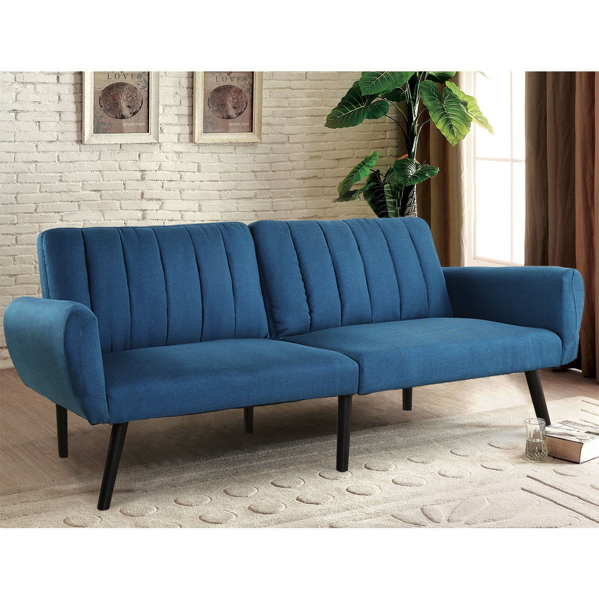 Sofa Futon Bed Sleeper Couch Convertible Mattress