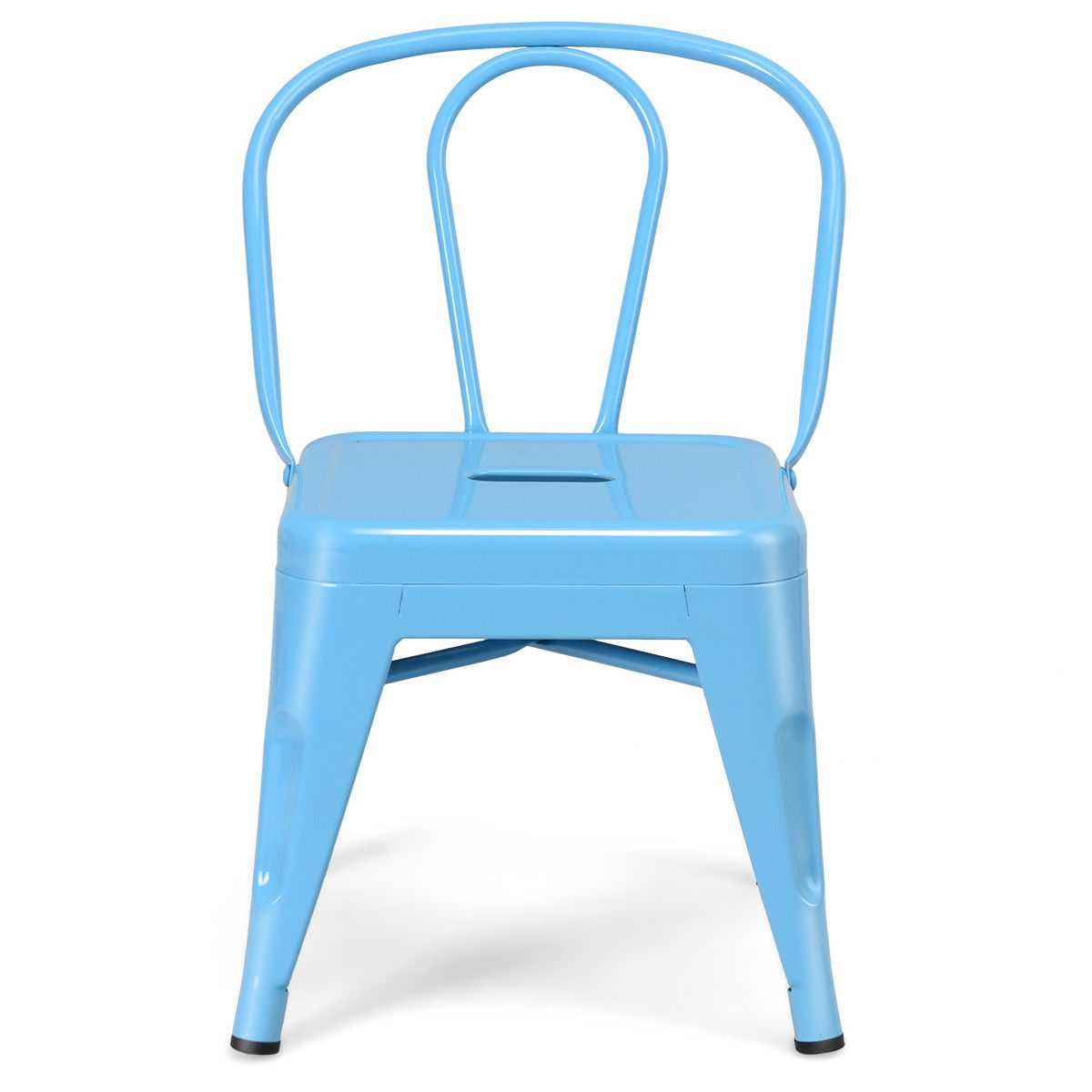 Set of 4 Tolix Kids  Lightweight Stool Metal Chairs
